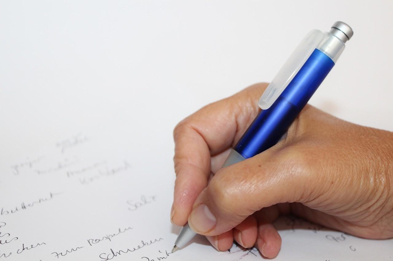 Fay3 صور لـ كتابة قلم جاف رسالة يد