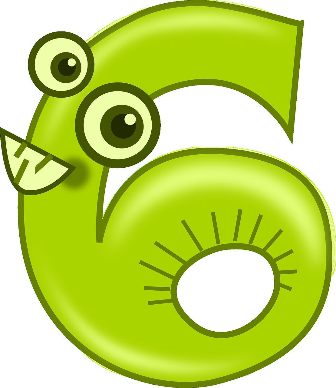 Fay3 صور لـ ستة 6 عد مضحك الأرقام الرياضيات أعداد