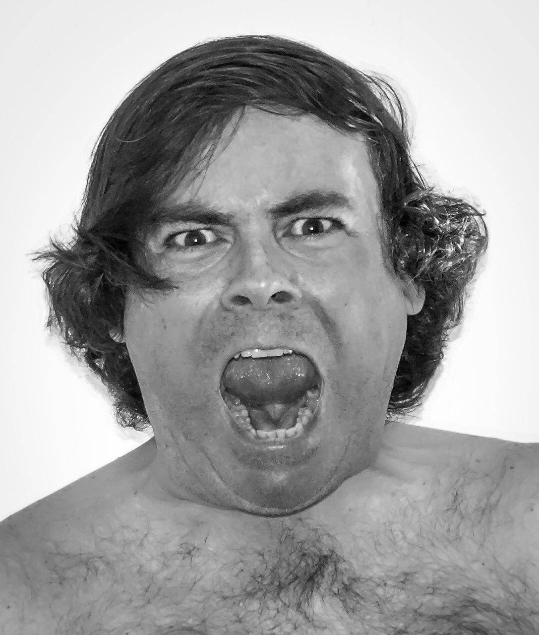Fay3 صور لـ رجل خوف ذعر وحش يسترخي وجه