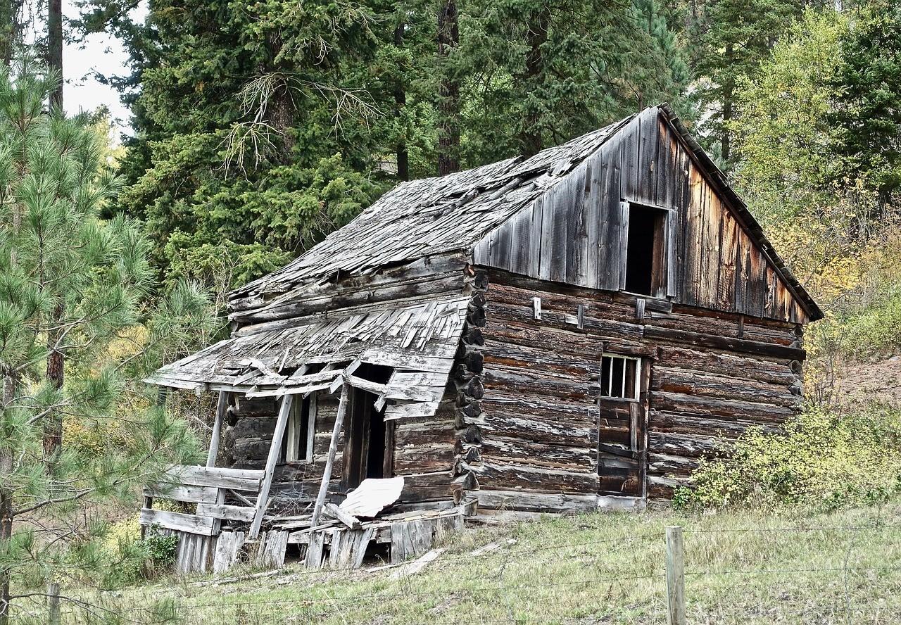 صور لـ #كوخ #ريفي #خشبي #كوخ #ريفي #بناء