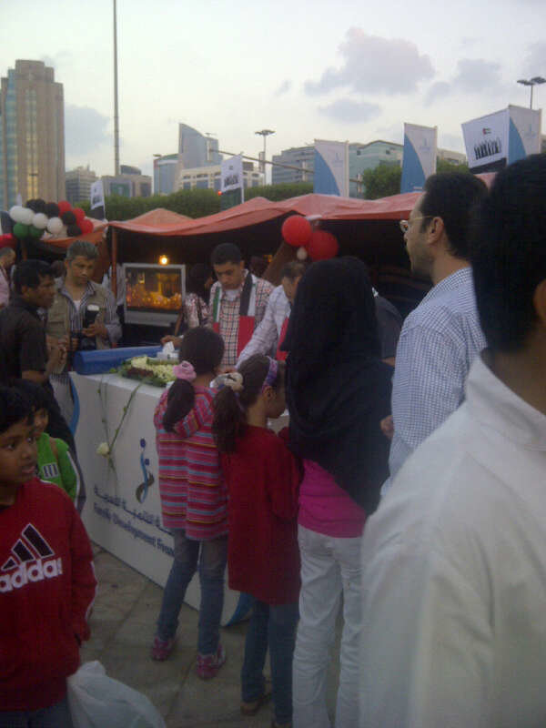Family Development Foundation tent @ UAE's 41st national day