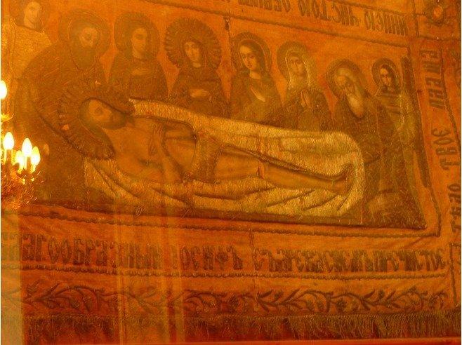 مطرزة للمسيح عليه السلام في #مادبا #الأردن #تاريخ