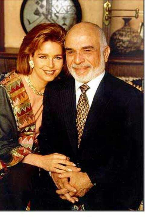 #الملك_حسين رحمه الله والملكة نور #الأردن