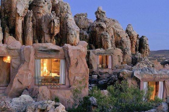 Like the Flintstones! Kagga Kamma Cave Resort in South Africa