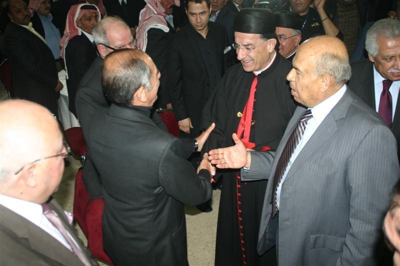 البطريرك مار بشارة بطرس الراعي في #الفحيص #الأردن