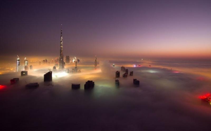 ناطحات السحاب في #دبي