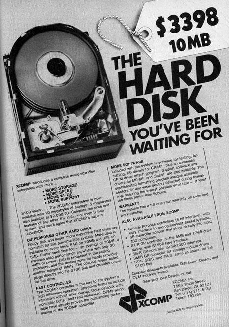 The Hard Disk you've been waiting for! $3398