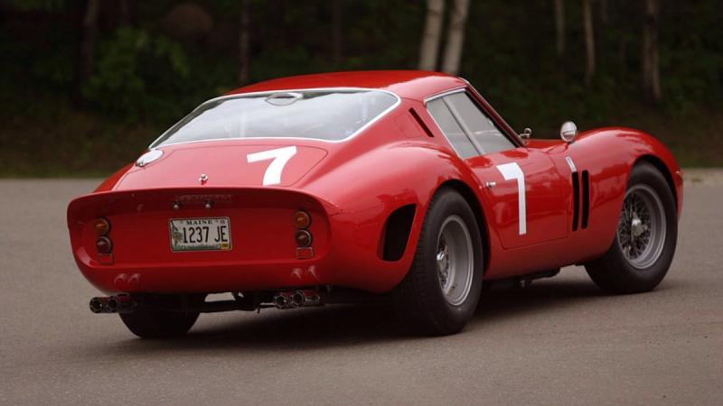 1962 Ferrari GTO 250 - rear shot