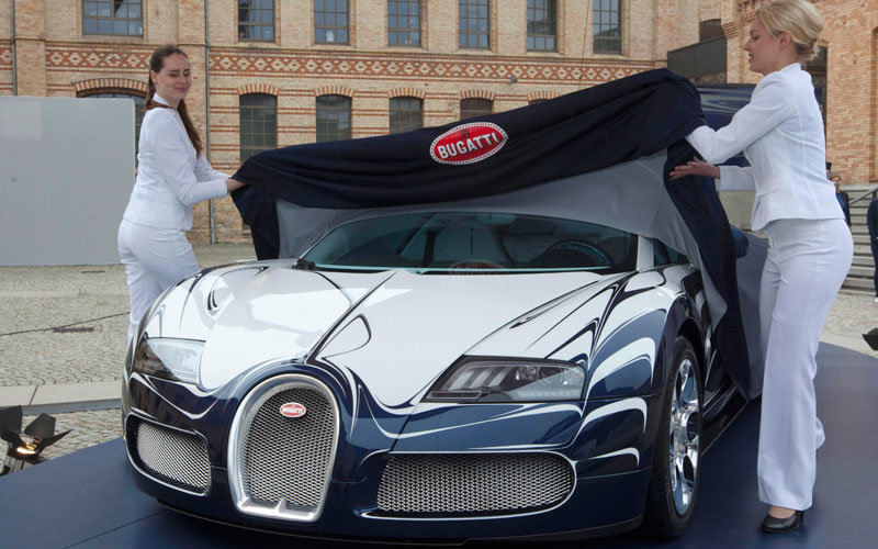 custom-made #Bugatti L'Or Blanc – the world's most expensive car - 1