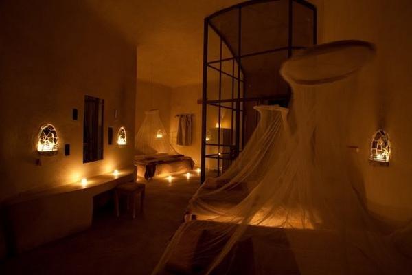 الشموع في أحد بيوت #الطفيلة #الأردن -صورة 2