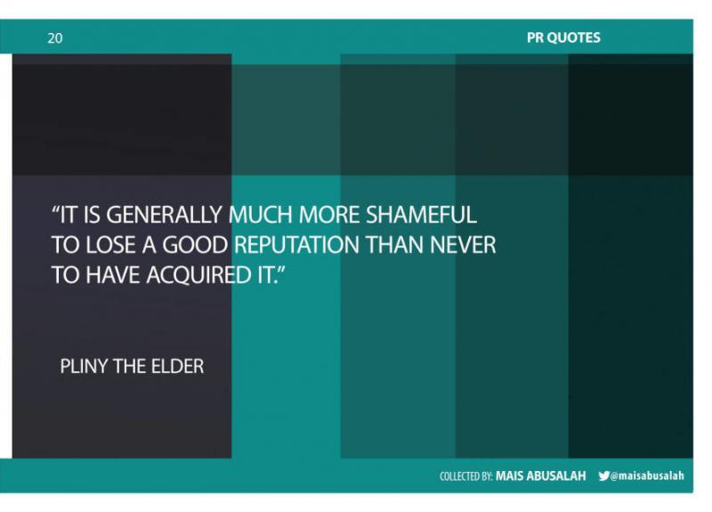 Inspiring PR & Communications Quotes 13