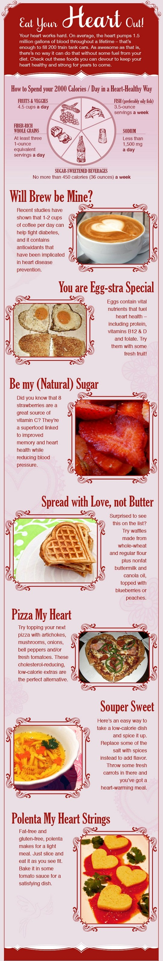 Healthy Eating Tips #Infographic