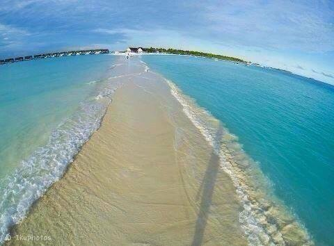 Natural Walkway, Maldives