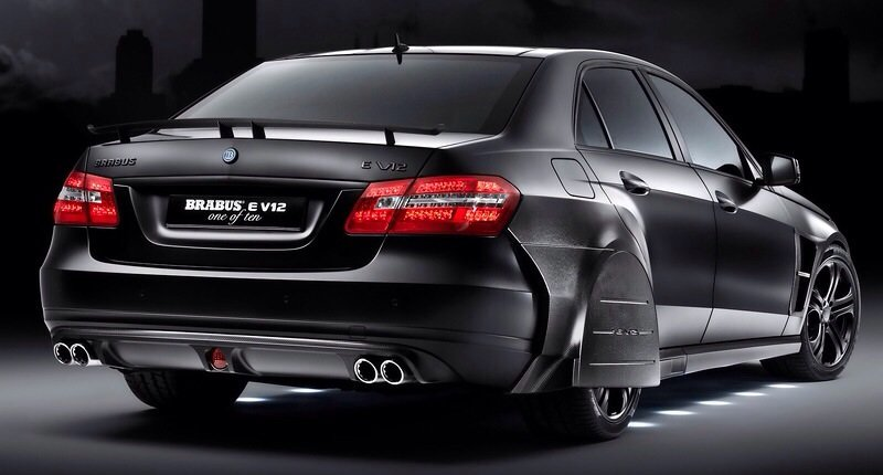 Mercedes-Benz Brabus E V12 Black Baron - rear shot
