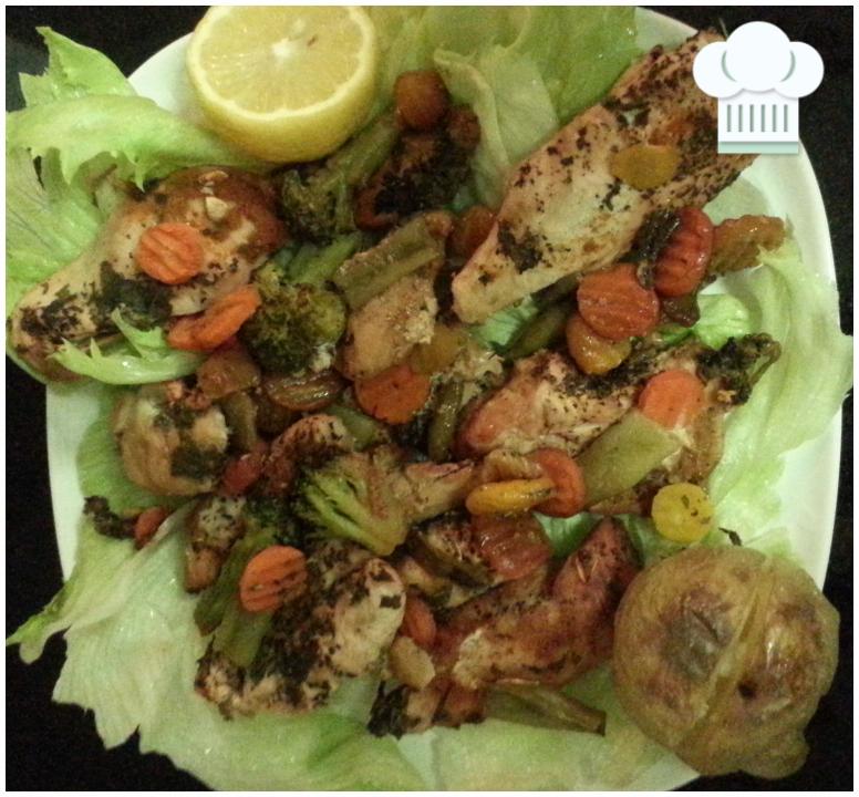 My Roasted Chicken & Vegetables Secret Recipe :)