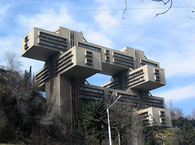 Amazing Buildings - State Department for Traffic (Tbilis, Georgia)