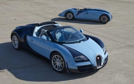 Old and New #Bugatti