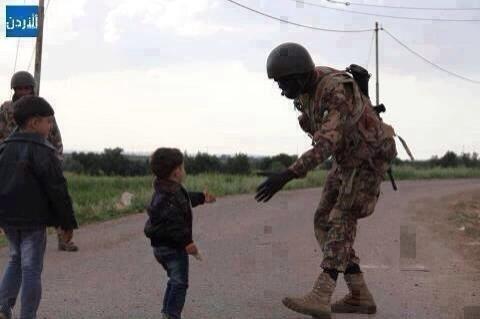الله محيي جيشك يا أردن