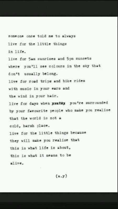 live for ..