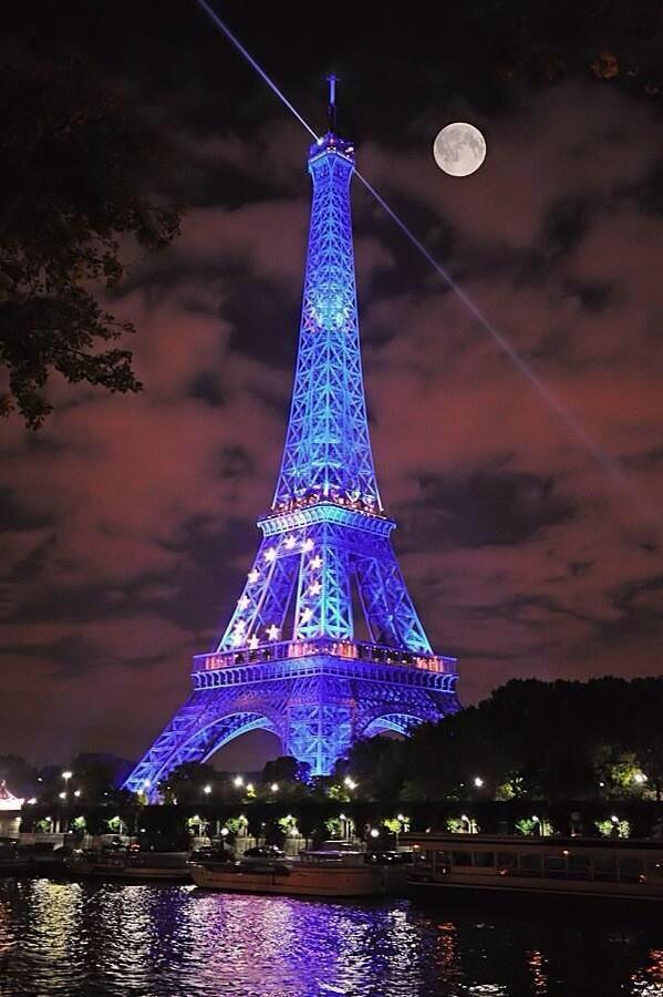 Tower of light ~ Paris