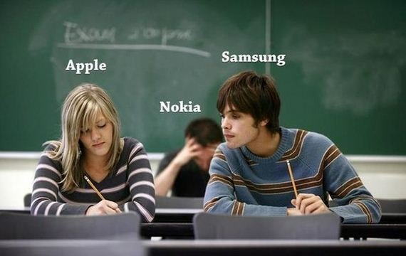 Smasung,Apple and Nokia