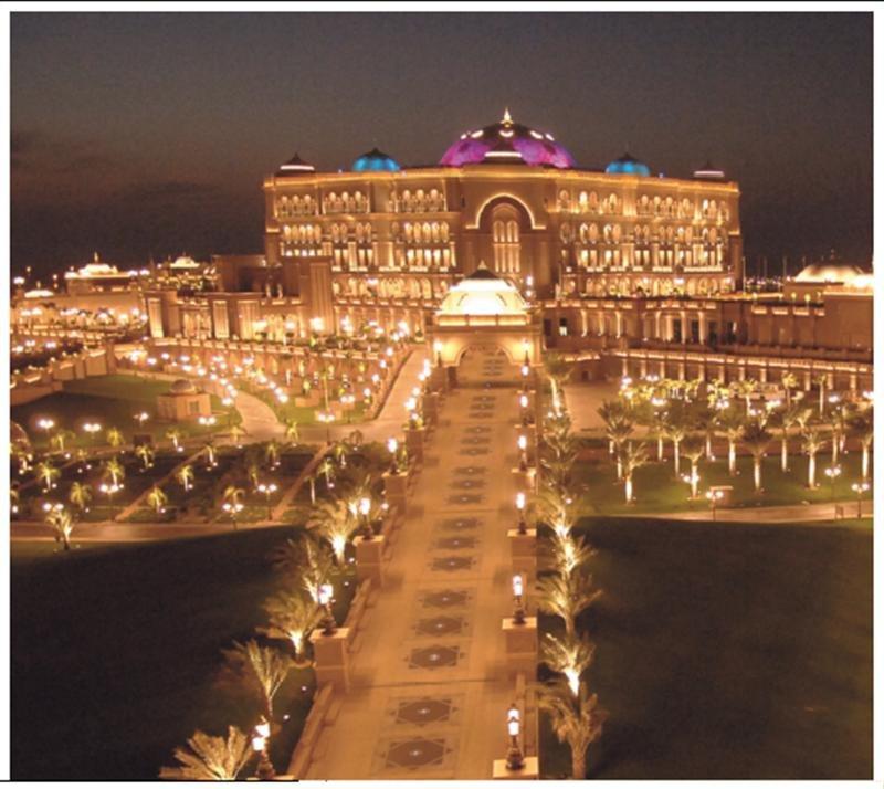 #قصر_الإمارات #أبوظبي من الأعلى