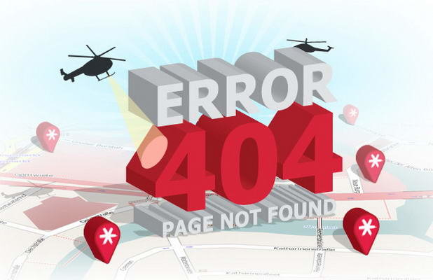 1- 404 Error Pages Designs