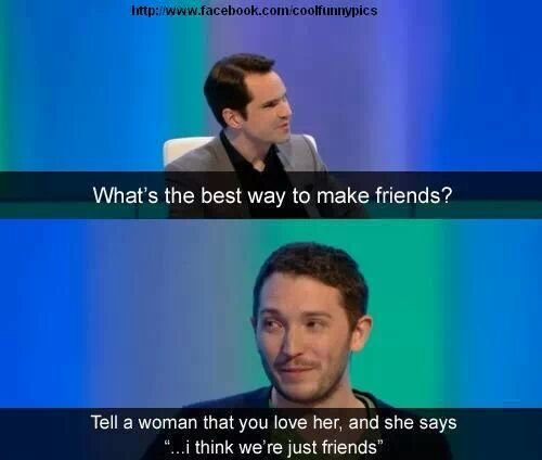 The best way to make friends