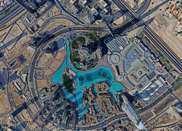 صور من الجو ل #برج_خليفة في #دبي #الإمارات - صورة 3
