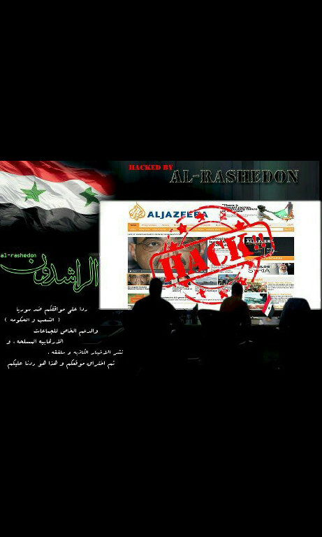 was aljazeera hacked?