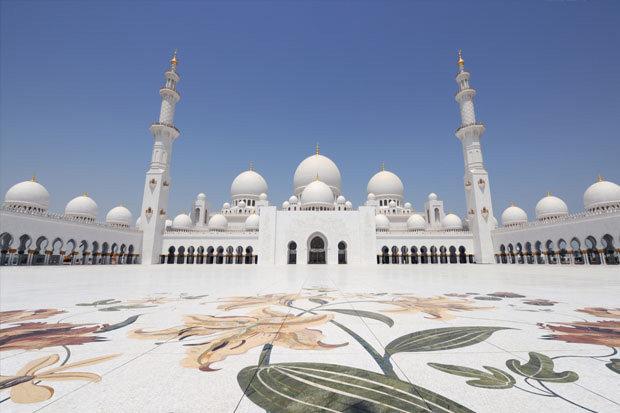 جامع #الشيخ_زايد الكبير. #أبو_ظبي