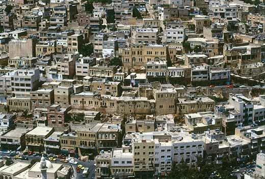 صورة عامة لمدينة #السلط #الأردن