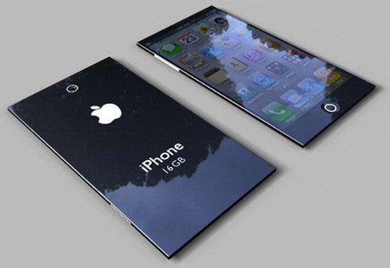 Leaked design of the IPhone 5S
