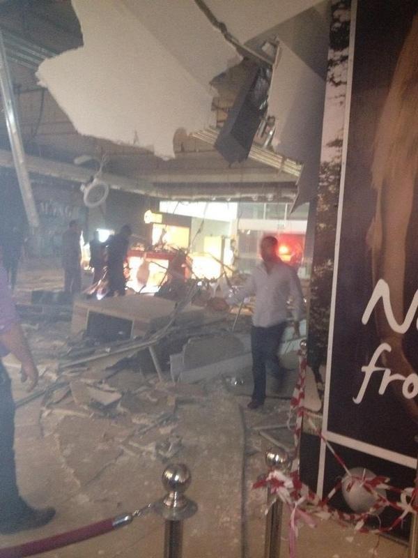 انهيار سقف سيتي مول #عمان #الأردن