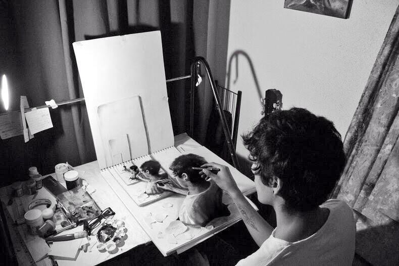 3D Pencil Sketching by the 17 years old artist vladimer Instroza