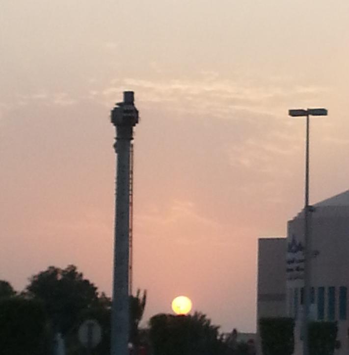 Sunset @ Marina Mall #AbuDhabi