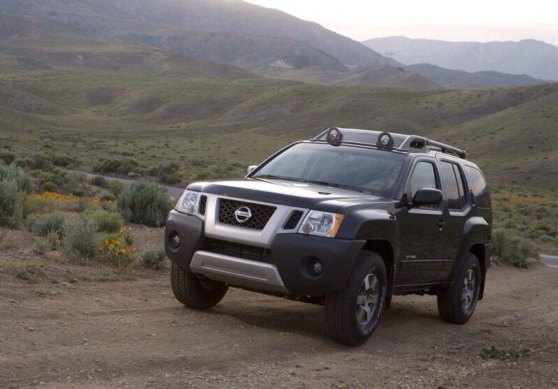 Nissan Xterra - front shot
