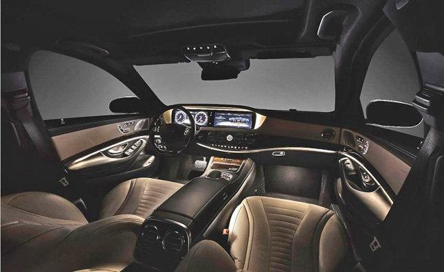 Mercedes S Class 2014 interior