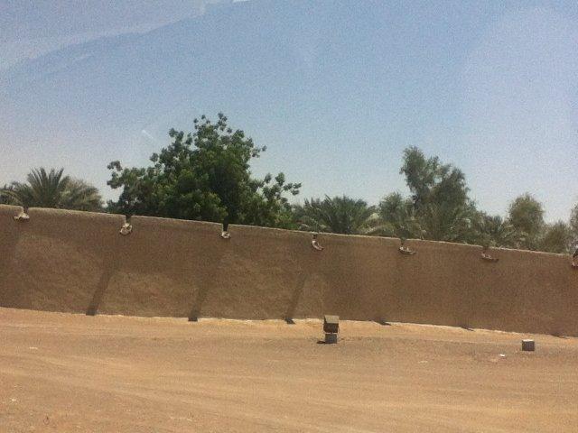 الأسوار على الطريقة ال#قديمة في العين #أبوظبي