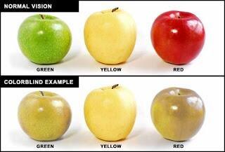 مكتشف عمى الألوان هو جون دالتون.