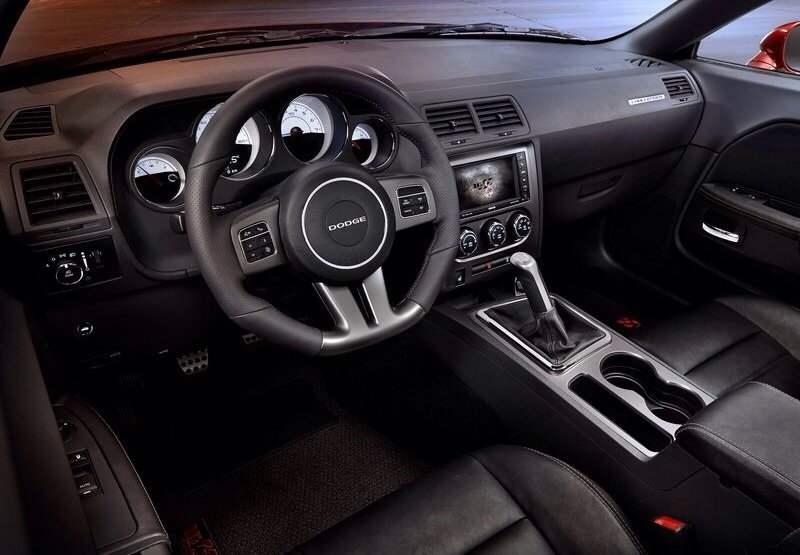 Dodge Challenger RT - interior shot