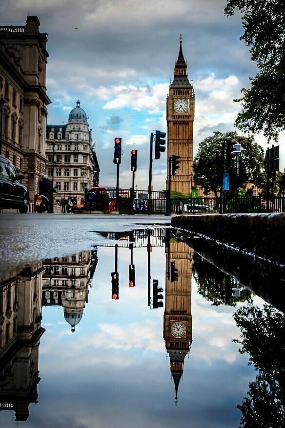 Reflection, London, UK