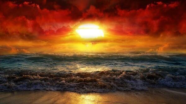 sunrise painting #good_morning