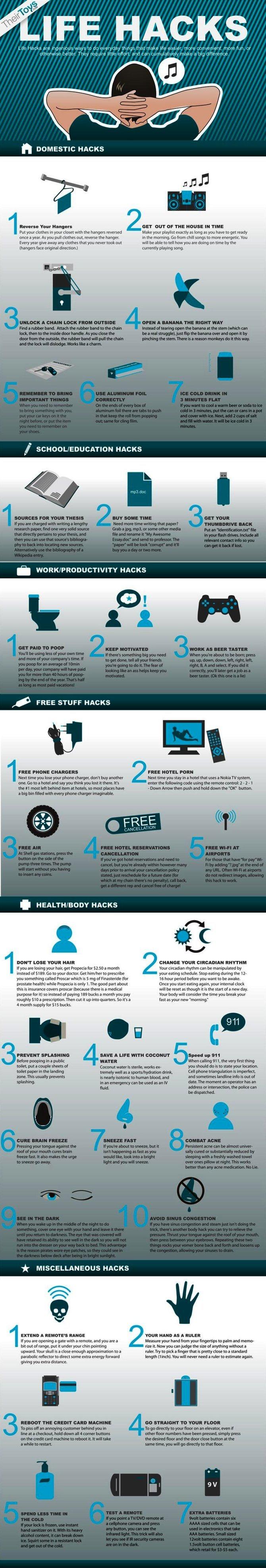 life hacks #infographic