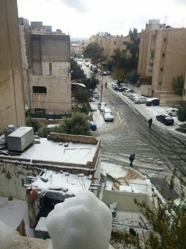صور للثلح في عمان 3