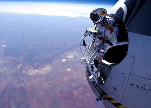 #صباح_الخير من حافة الفضاء