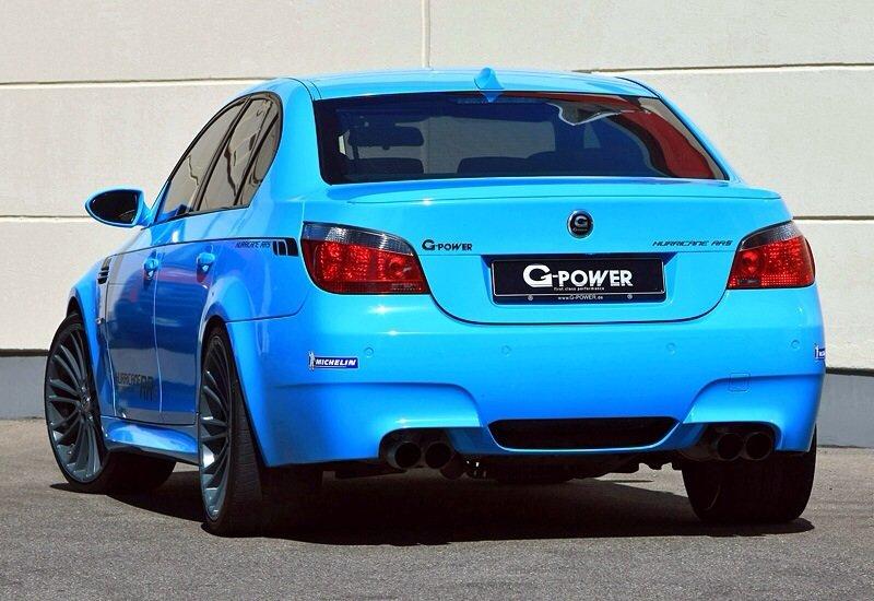 BMW M5 G-Power Hurricane RRs - rear shot