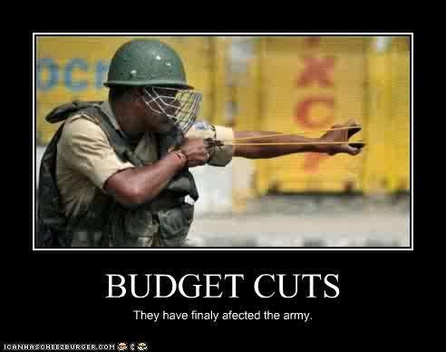 خفض الموازنات