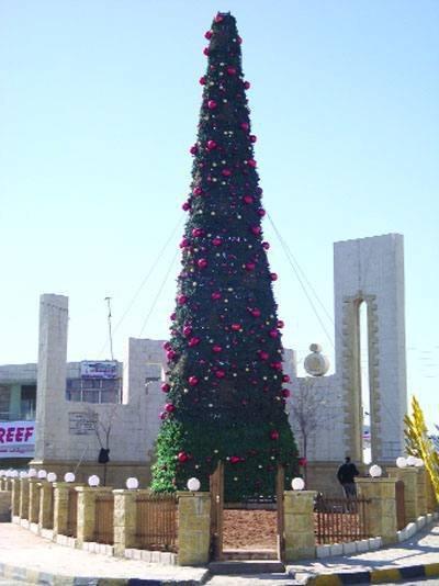 شجرة العيد في #الفحيص #الأردن