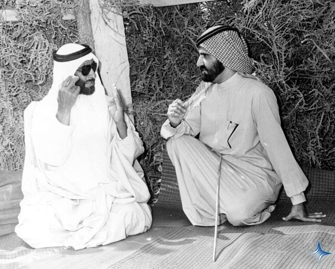 Rare Pictures for Sheikh Zayed and Sheikh Mohamad Bin Rashed 7
